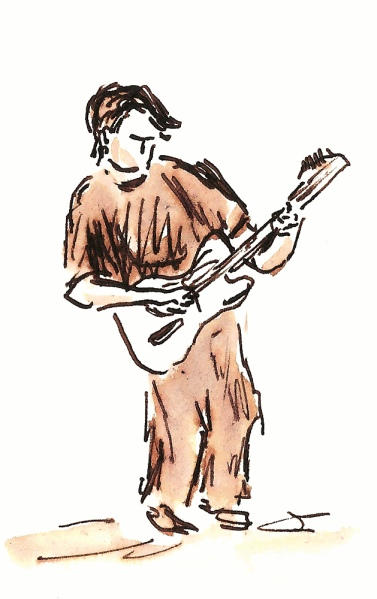 Allen.  Sketch by Joel Winstead.