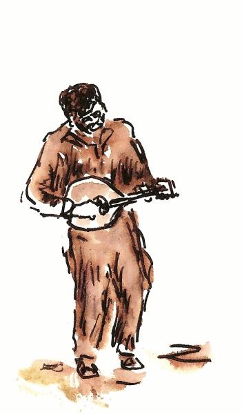 gem.  Sketch by Joel Winstead.