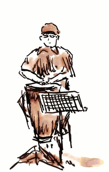 Mikey.  Sketch by Joel Winstead.