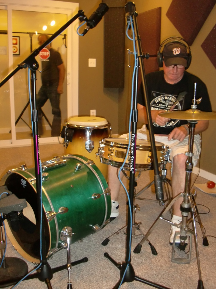 Mikey on a very small kit.