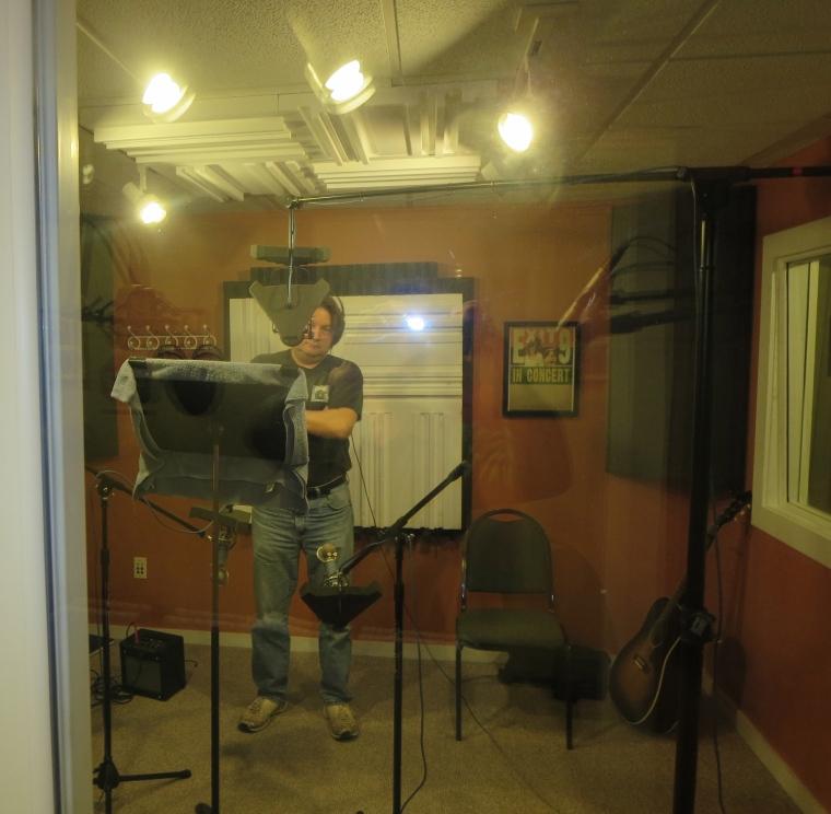 Allen Kitselman punches in some vocals.