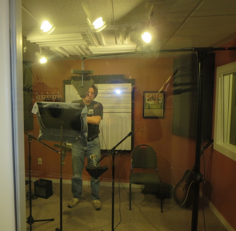 Allen Kitselman punches in some vocals.