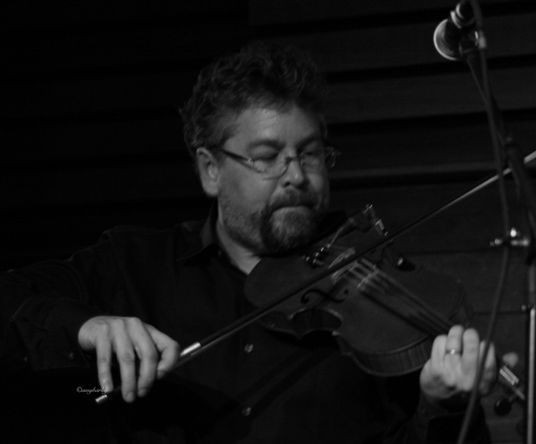 Gary McGraw: violin, mandolin and vocals for the bitter liberals