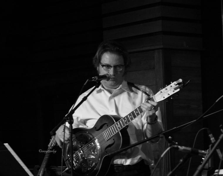 Allen Kitselman: guitar and vocals for the bitter liberals