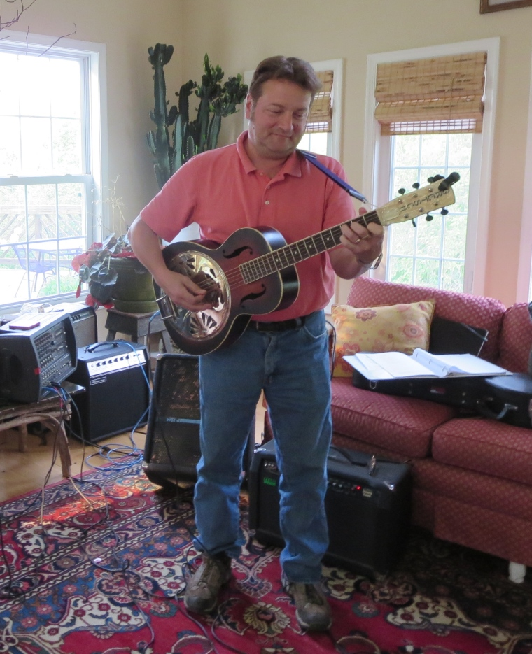 Allen Kitselman, master of the resonator