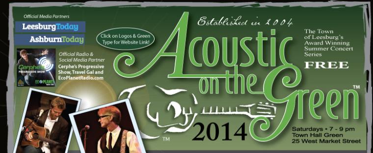 Free concert on Leesburg, VA.