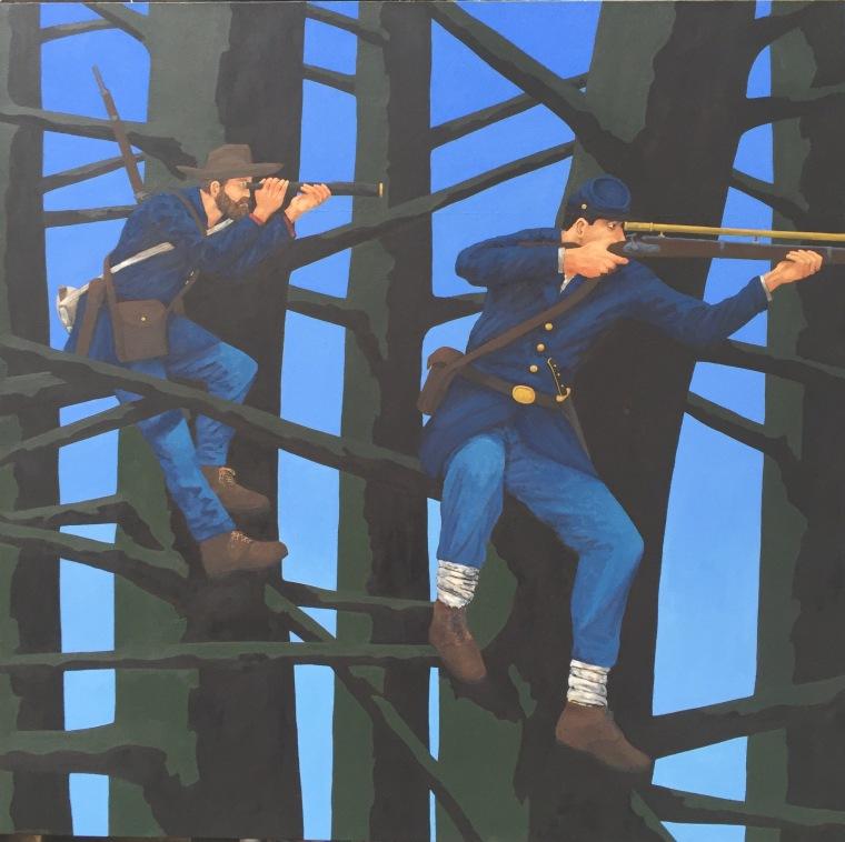 Civil War art by Winslow McCagg